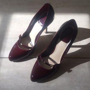 Burgundy CHRISTIAN DIOR heels